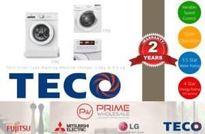 Brand New! Teco Front Load Washing Machine (Range) 5.0kg & 9.0kg Thornton Maitland Area Preview