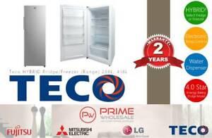 Brand New! Teco Hybrid Fridge/Freezer (RANGE) 268L & 418L Thornton Maitland Area Preview