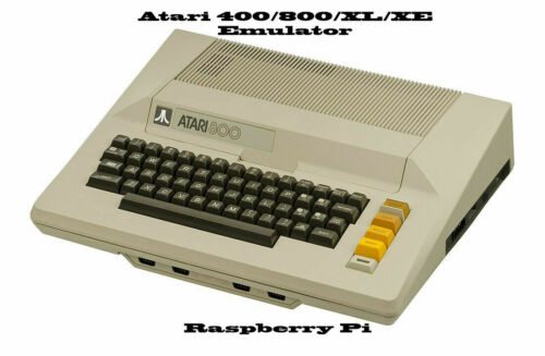 Atari 400/800 - XL-XE ~ Raspberry Pi Emulator, with Large Software Collection
