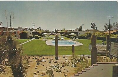 Tucson AZ El Ranchito Sereno Apartments Postcard 1950s