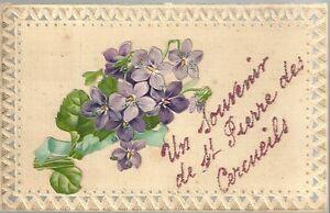 cpa fantaisie souvenir saint pierre les cercueils saint pierre des fleurs fleur ebay. Black Bedroom Furniture Sets. Home Design Ideas