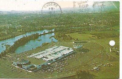 Eugene OR Valley River Shopping Center Postcard (Valley River Eugene)