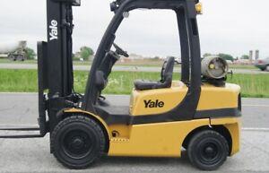 Chariot elevateur pneumatique Yale 5000 lbs. Forklift