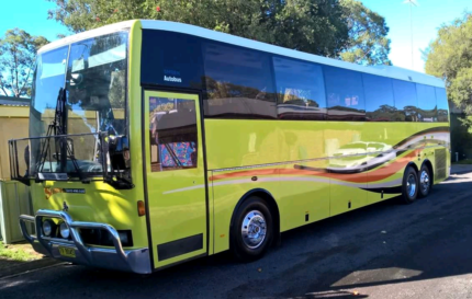 Tour coach for sale with introduction to ongoing work