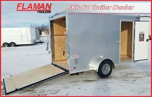 2017 Bravo SC612SA Enclosed Cargo Trailer