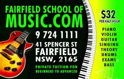Fairfield School of Music - All instruments. *****1111 Fairfield Fairfield Area Preview