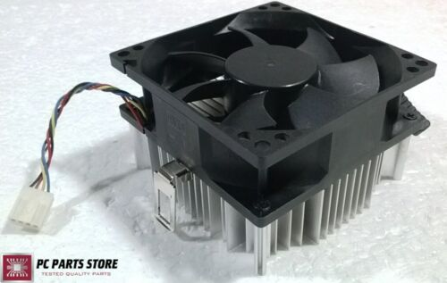 Dell Inspiron 545s 546 546s AMD CPU Cooler Heatsink Fan 4-Pin AM2 K640N 0K640N