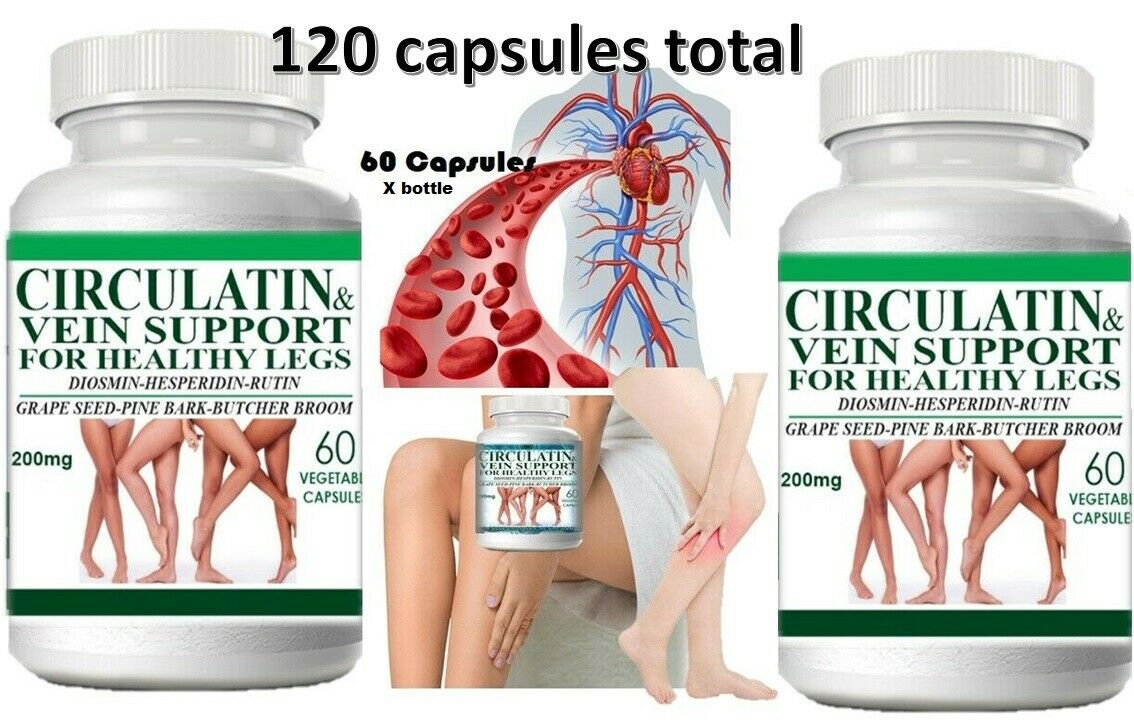 Life Circulation Support Supplement for Arteries and Veins Health - Pills 120  1