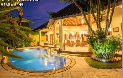 Sanur, Bali, Private Pool Villas