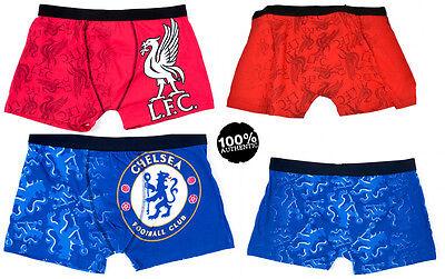Men's Soccer Boxer Briefs Premiership Clubs Official European Football Shorts