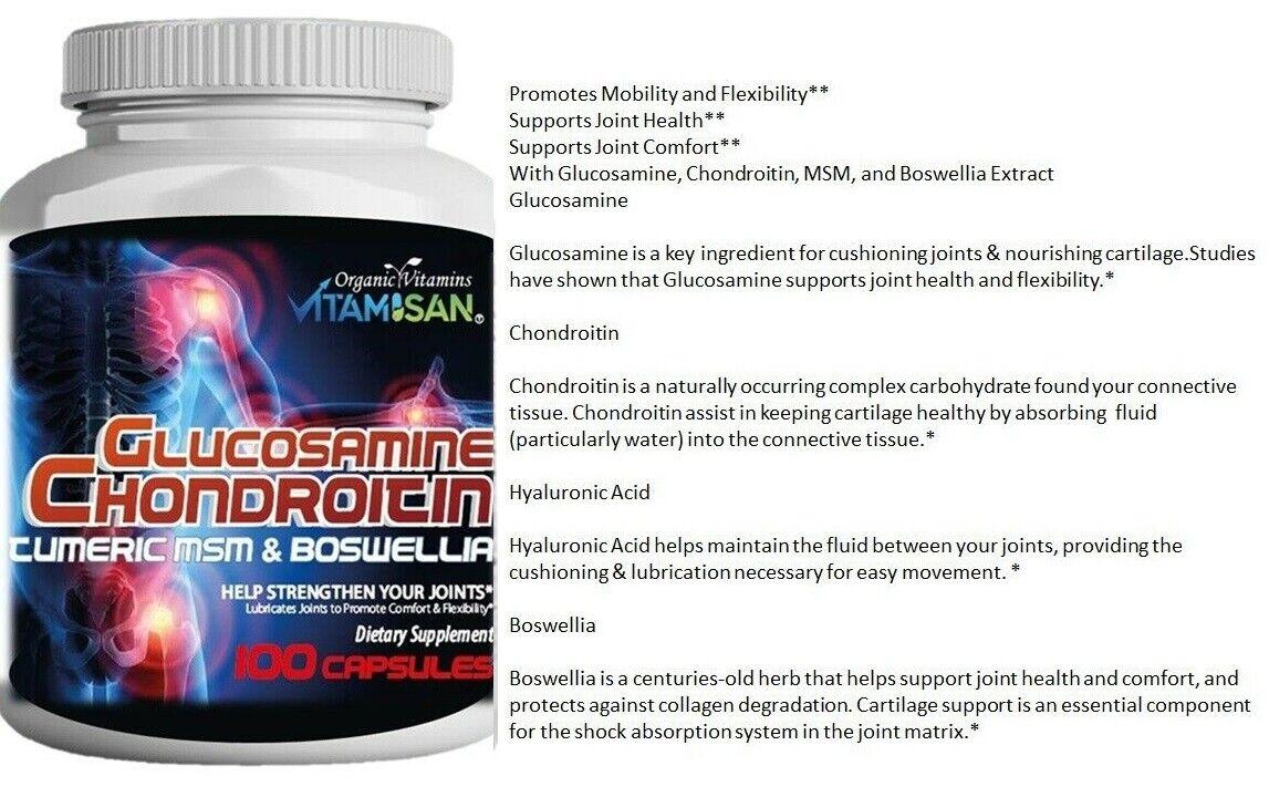 glucosamine chondroitin triple strength 240 caplets 5