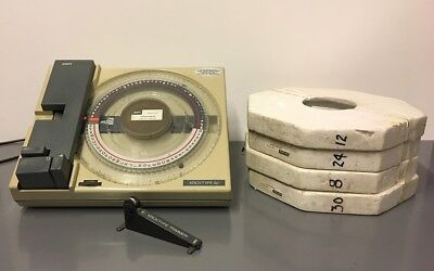 Kroy Type Vintage Label Maker With 4 Spools Of Helvetica Font