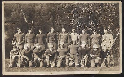 REAL PHOTO Postcard West Virginia/WV  1931 SHS High School Football Team