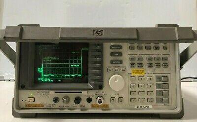 Hewlett Packard 8596e Spectrum Analyzer 9 Khz - 12.8ghz Opt 041 130 Bd0