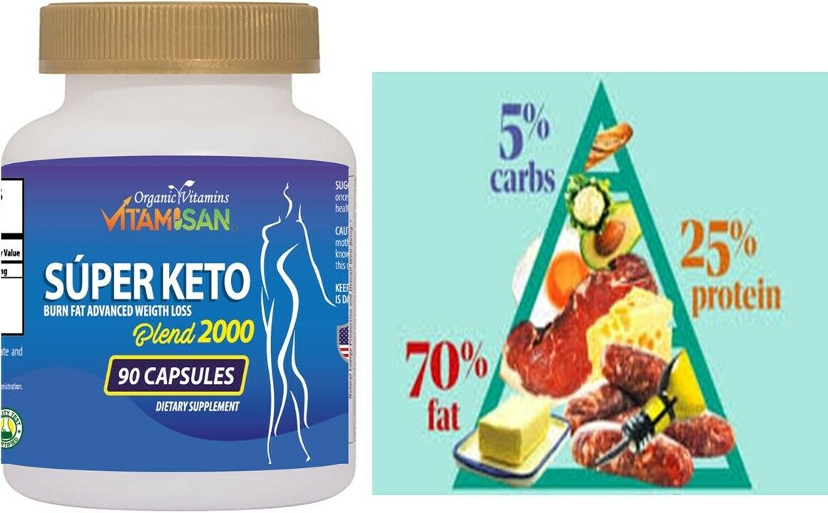 Keto Advanced Weight Loss Pills Supplement Fast Keto Diet For Men Woman 90 caps