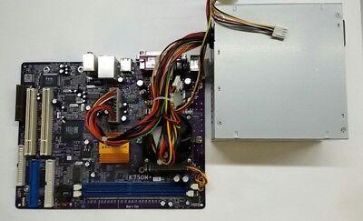 Elitegroup K7SOM Mainboard mit 300 Watt Netzteil