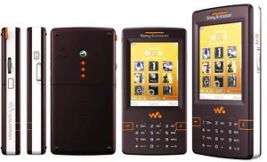 Sony Ericsson Walkman W950i 4GB Mystic purple Unlocked Triband Gsm Smartphone.