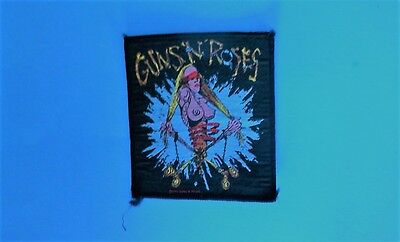 RARE Vintage Guns N Roses Appetite for Destruction Era Sew On Patch! Unused