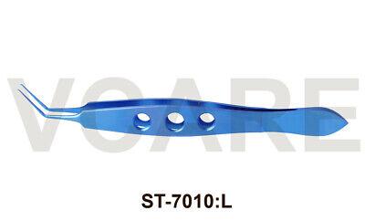 Utrata Capsulorhexis Forceps Long Handle Titanium Ophthalmic Instrument