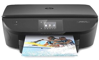 New Hp Envy 5660 Wireless All In One Photo Printer W Mobile Printing With Ink