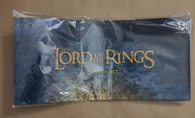 The Lord Of The Rings 3 Patch Set (Lootcrate)