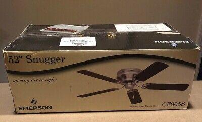 52 Snugger Ceiling Fan - New In Box Emerson 52