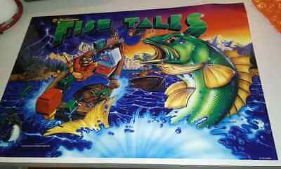 FISH TALES WILLIAMS ORIGINAL Pinball Machine Translite