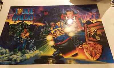 Judge Dredd Bally Williams Pinball Machine Original Translite