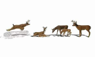 Woodland Scenics Deer O Scale Figures