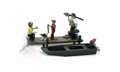 Woodland Scenics Family Fishing N Scale Figures