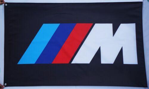 FREE SHIP TO USA Big NEW BMW FLAG BANNER M POWER 3X5 feet sign M5 M6 M3 5 6 m4