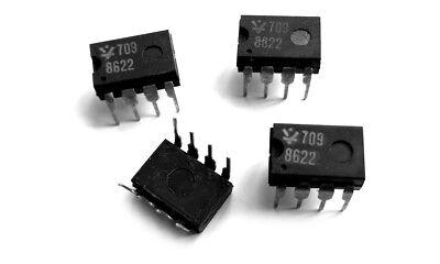 709 Ic Lm709 Nte909d Ua709 Sn72709n Operational Amplifier 8 Pin 1 Pcs