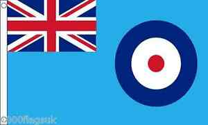 Royal Air Force RAF Ensign 5'x3' Flag *** Great Quality for Under £4 ***