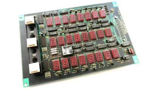 CNC FANUC A20B-0006-0300-01A DISPLAY MODULE (B1) -- USED (1 pcs)