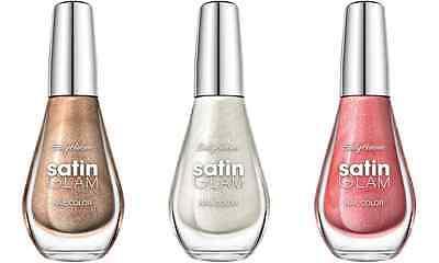 Sally Hansen Satin Glam Nail Color Polish Lacquer Nailpolish New Bottle Shimmer