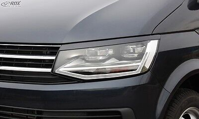VW T6 2015+ Headlight covers Eye Brows ABS