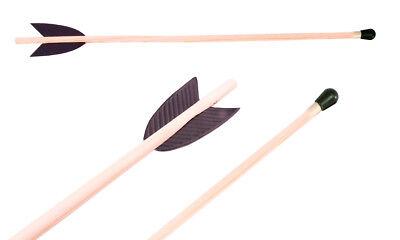 Pfeile für Spiel-Bögen 40 cm; Pfeil und Bogen für Kinder Holz ()