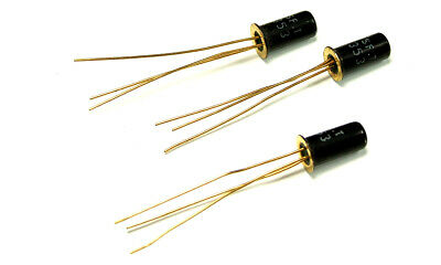 Transistor NPN 60V 1A 0.75W TO39 5 pieces 2SC708 C708 // BSW54 // 2N2219A