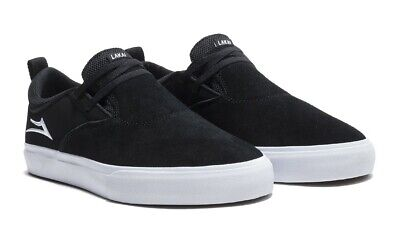 - Lakai Limited Footwear Riley 2 Blac /White Suede  Riley Hawk Pro Model Shoes $72
