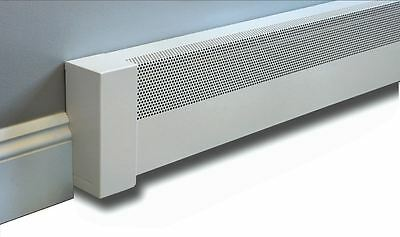 Baseboard Heater Cover 5ft Basic with Left and Right EndCaps