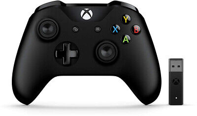 XBOX ONE Controller Wireless Black + Wireless Adapter (Win10)