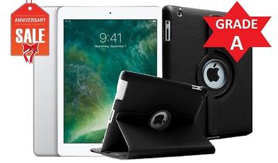 BUNDLE Apple iPad mini 1st Gen 16GB, Wi-Fi, 7.9in - White & Silver - GRADE A (R)