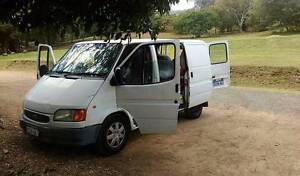 1997 Ford Transit diesel van with bed Byron Bay Byron Area Preview