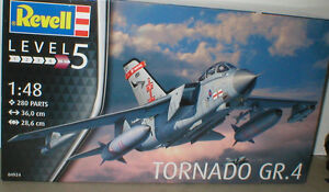 TORNADO GR.4 of 41 or 617 Sqn RAF Coningsby/Lossie REVELL 1/48th KIT 280 parts