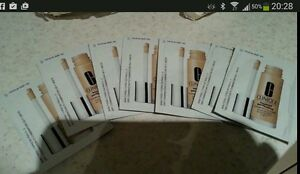 Clinique Beyond Perfecting  Foundation/concealer 20 X Samples - Neutral - 30ml