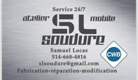 Soudure mobile