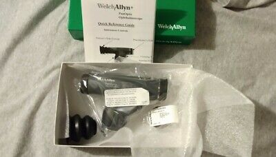 Welch Allyn 3.5v Panoptic Ophthalmoscope With Cobalt Blue Filter - 11820 New