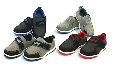 Skater Girl Shoes -  New Baby Toddler Boys Girls Low Canvas Strap Tennis Shoes Kids Skater Sneaker
