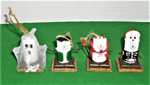 4 The Original Smores Halloween Ornaments ~ Midwest of Cannon Falls–Skeleton +