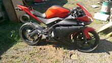 2009 Yamaha YZFR125 Motorbike Road Bike Motorcycle Orange Black Brisbane City Brisbane North West Preview